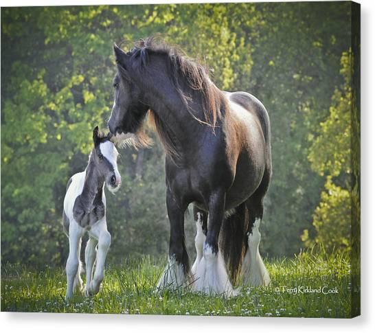 The Nurturing Mother Canvas Print