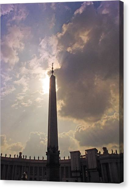 The Obelisk Canvas Print