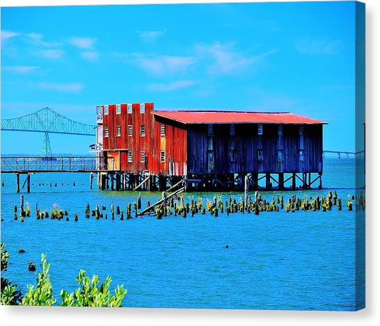 The Old Cannery Canvas Print