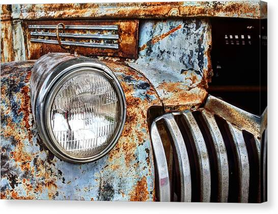The Old Chevy  Canvas Print by JC Findley