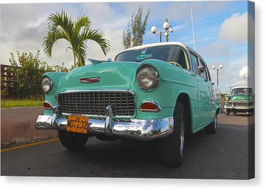 The Old Chevy Still Young Canvas Print