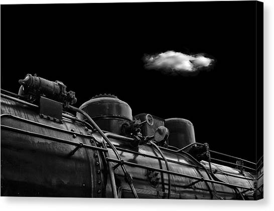 Engineering Canvas Print - The Old Days by Stefan Eisele