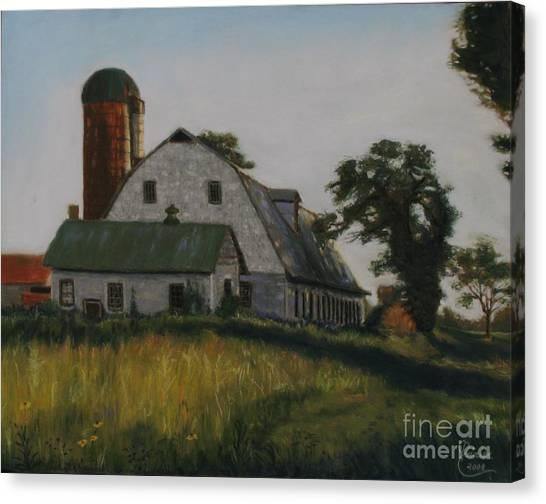 The Old Farm In Fredrick Maryland Canvas Print