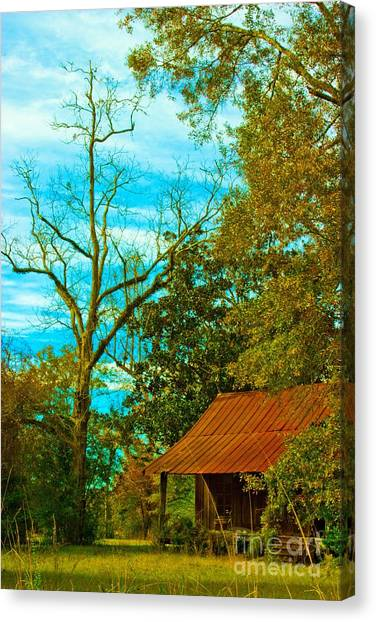 The Old Homestead 2 Canvas Print