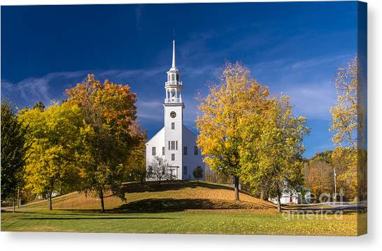 The Old Meeting House. Canvas Print