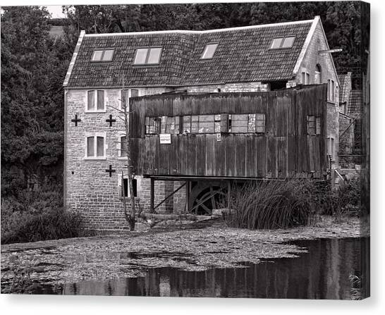The Old Mill Avoncliff Canvas Print