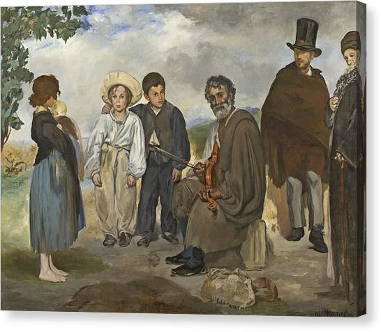 Hard Hat Canvas Print - The Old Musician by Edouard Manet