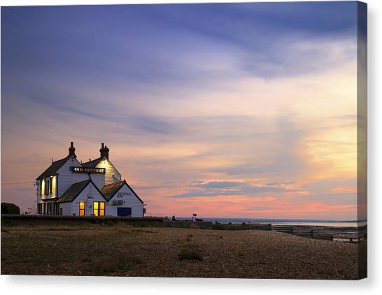 Neptune Canvas Print - The Old Neptune - Whitstable  by Ian Hufton