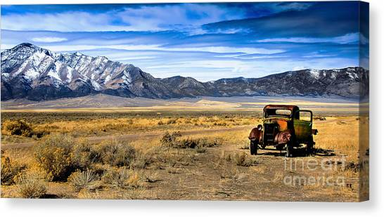 The Old One Canvas Print