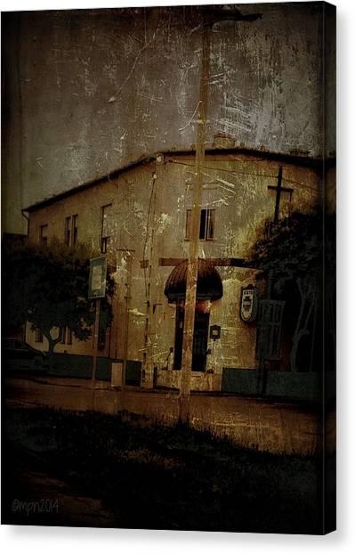 The Old Pharmacy Canvas Print