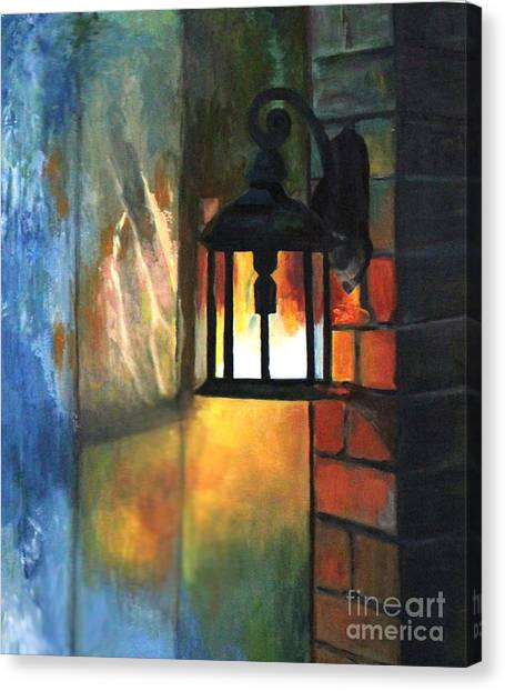 The Old Porch Light Canvas Print