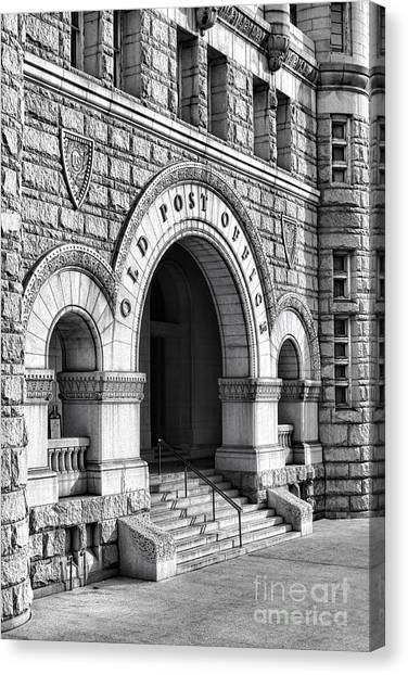 Romanesque Art Canvas Print - The Old Post Office Pavilion  by Olivier Le Queinec