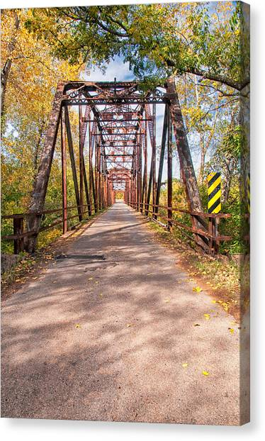 The Old River Bridge Canvas Print