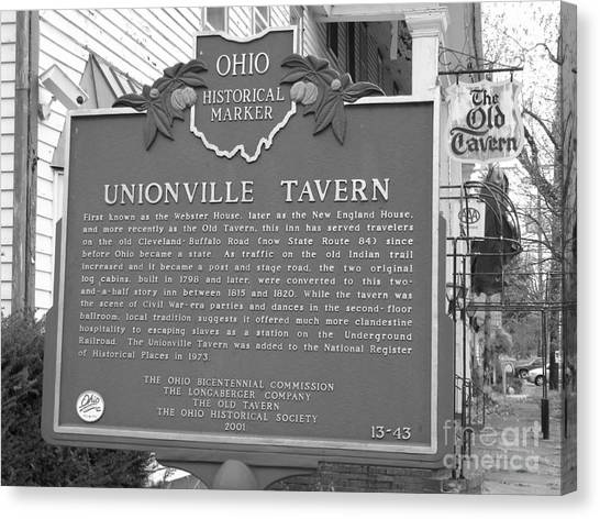 The Old Tavern II Canvas Print