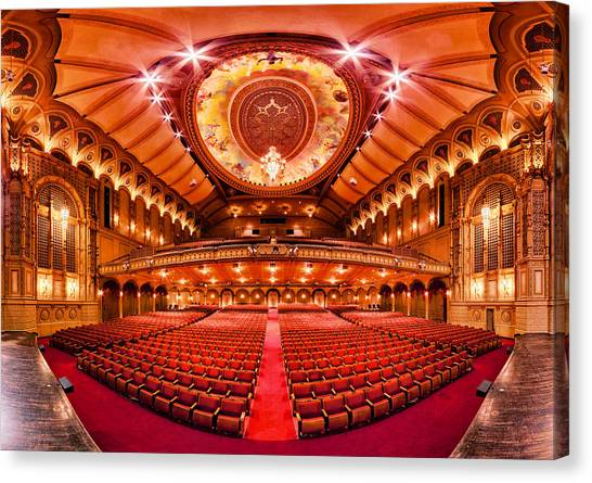 Orpheum Canvas Print - The Orpheum Theatre by Alexis Birkill