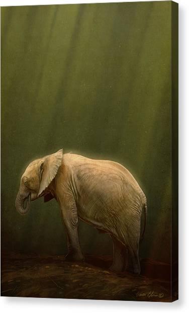 Digital Canvas Print - The Orphin by Aaron Blaise