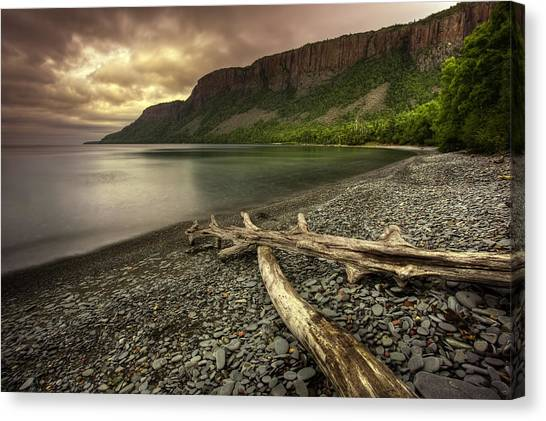 Sleeping Giant Canvas Print - The Other Side Of Giant by Jakub Sisak