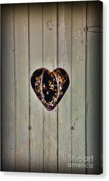 The Outhouse Of Amore Canvas Print
