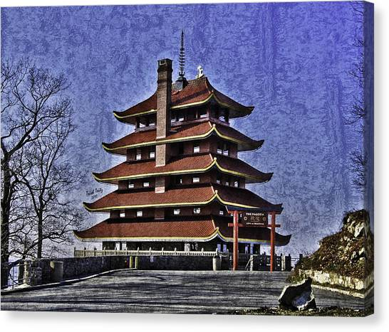 The Pagoda Canvas Print