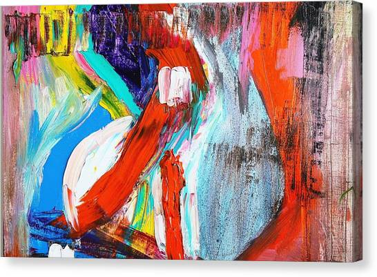The Pain Of Heartbreak Canvas Print