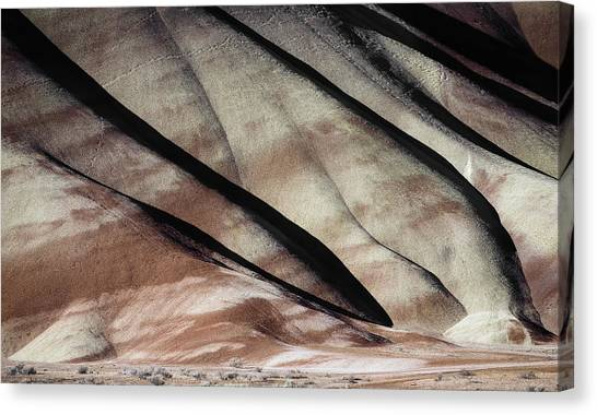 The Painted Hills 1 Canvas Print