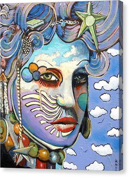 The Painted Lady Canvas Print by James  Lalepop Becker