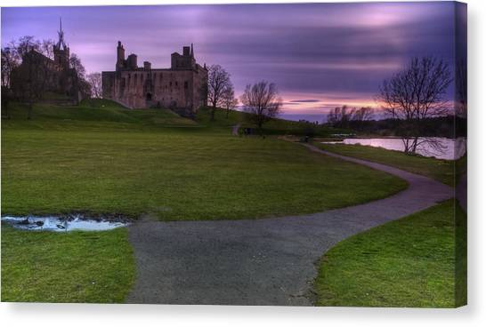 The Palace At Dusk Canvas Print