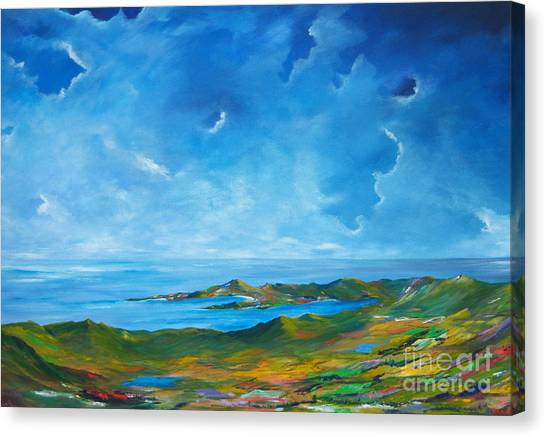 The Palette Of Ireland # 2 Canvas Print