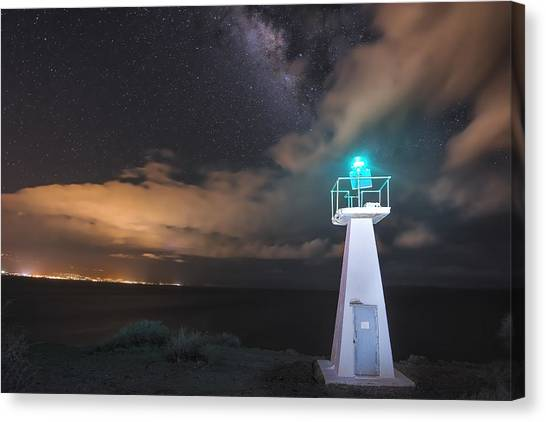 The Pali Lighthouse Canvas Print
