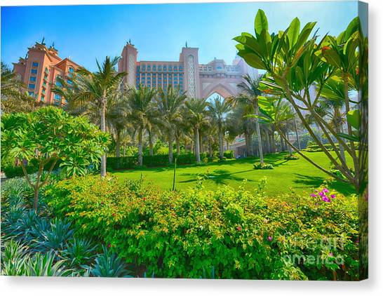 The Palm - Atlantis - Dubai Canvas Print by George Paris