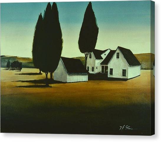 The Parson's House Canvas Print