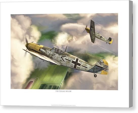 Luftwaffe Canvas Print - The Passage Below by Craig Tinder