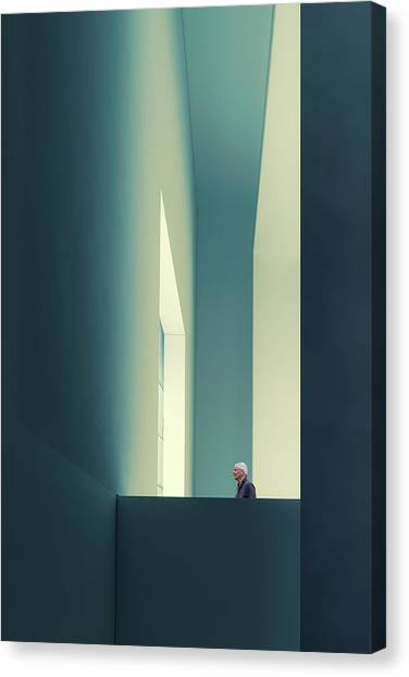 Hallway Canvas Print - The Passage by Luc Vangindertael (lagrange)