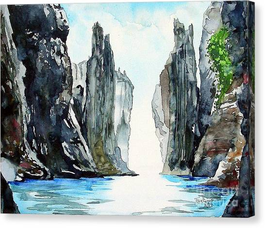 The Passage Canvas Print