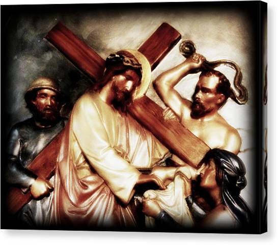 The Passion Of Christ Vii Canvas Print