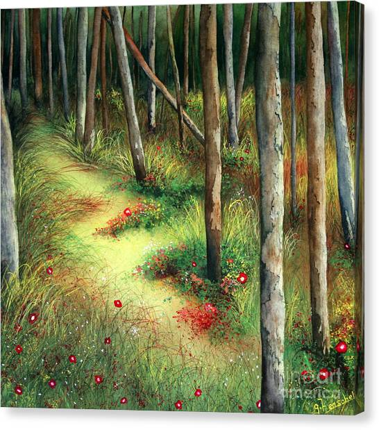 The Path Less Traveled Canvas Print