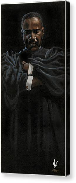 Alpha Phi Canvas Print - The Peace Keeper by Jerome White