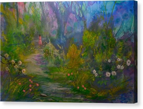 The Peaceful Path Canvas Print