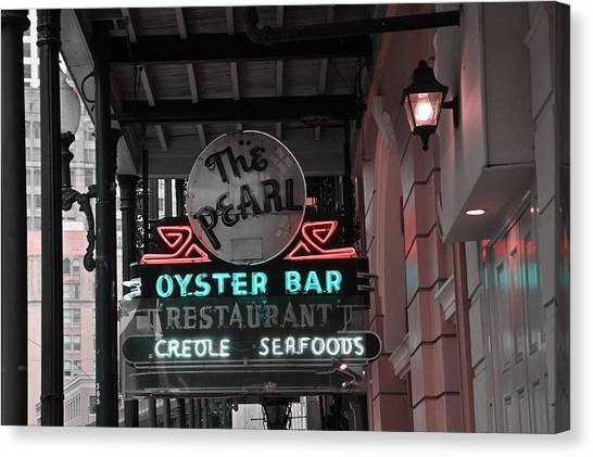 The Pearl Oyster Bar Canvas Print