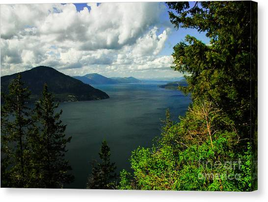 The Pend Oreille Canvas Print