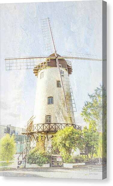 The Penny Royal Windmill Canvas Print