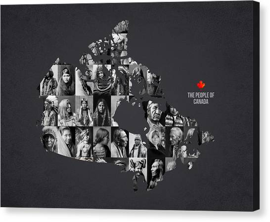 New Brunswick Canvas Print - The People Of Canada by Aged Pixel
