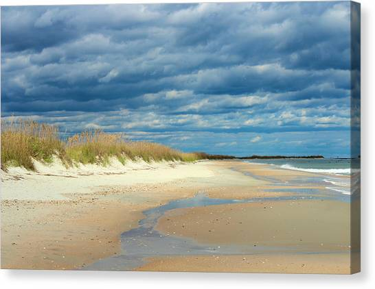 The Perfect Beach Shot Canvas Print by Lisa Campbell