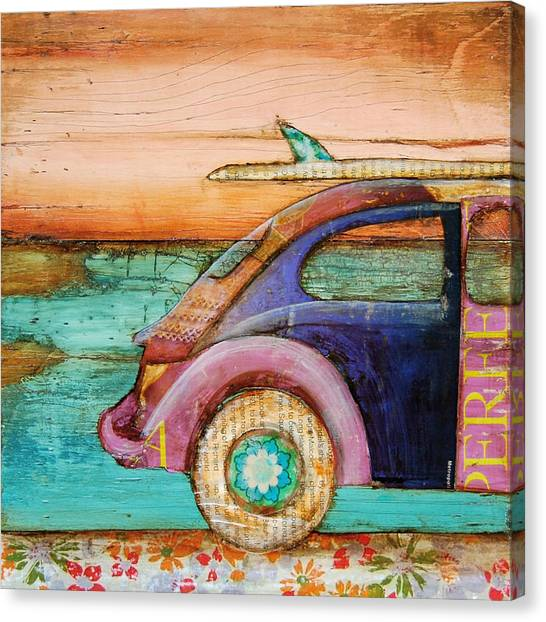 Collage Canvas Print - The Perfect Day by Danny Phillips