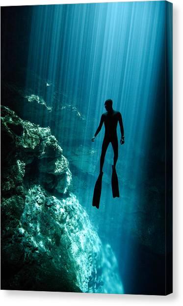 The Phantom Canvas Print by One ocean One breath