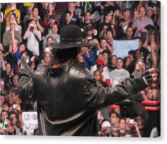 Undertaker Canvas Print - The Phenom by Anibal Diaz