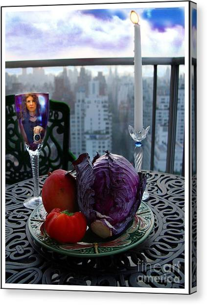 Cabbage Canvas Print - The Photographer by Madeline Ellis