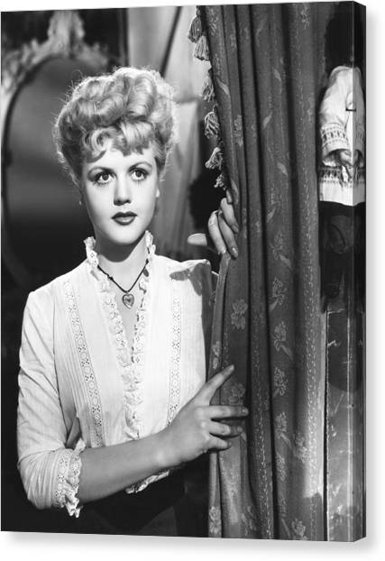 Angela lansbury canvas prints page 2 of 2 fine art america angela lansbury canvas print the picture of dorian gray angela by everett thecheapjerseys Image collections