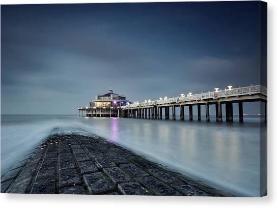 Pier Canvas Print - The Pier by Stefano Pizzini