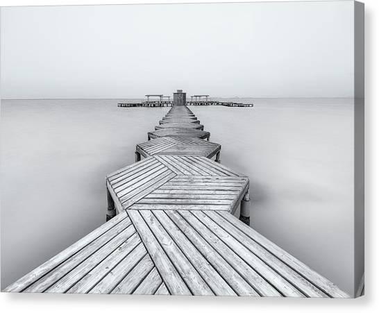 Pier Canvas Print - The Pier by Xavier Garci